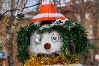 В конкурсе по созданию снеговиков может принять участие любой желающий.