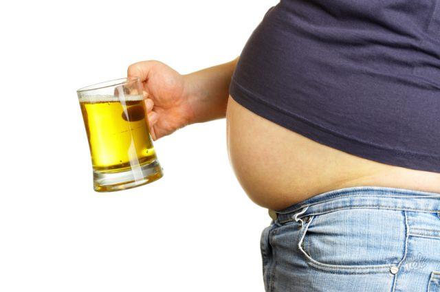 Наличие жира наживоте опаснее ожирения
