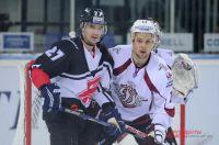 Омичи уступили латвийским хоккеистам со счётом 2:3.
