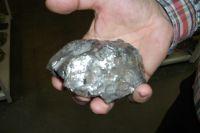 Так выглядит настоящий метеорит.
