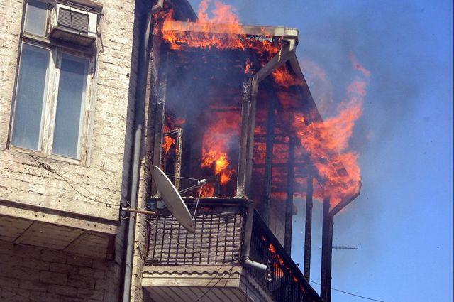 С 1 октября по 10 ноября 2015 года в пожарах погибли 16 омичей.