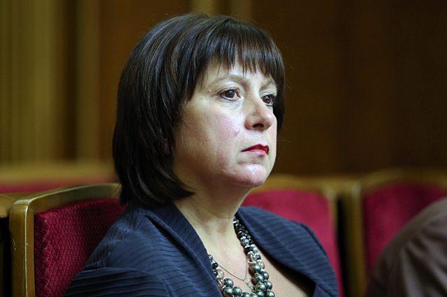 Украинский министр финансов Наталья Яресько.