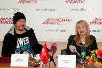 Рок-певица и лидер «Парка Горького» выступят в Омске на следующей неделе.
