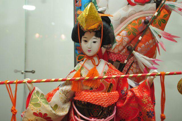 Посетители выставки узнали много интересных фактов о Японии.