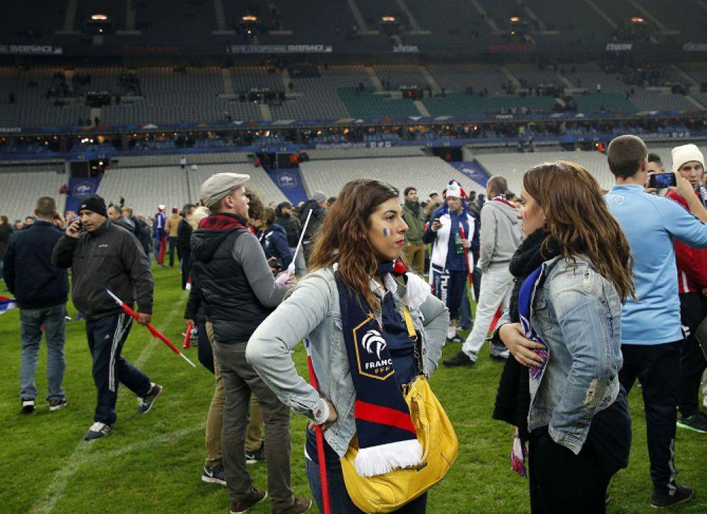 Заложницы стадиона «Stade De France»