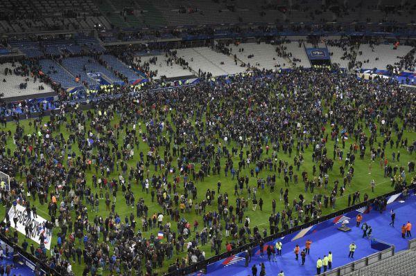 События на  стадионе  «Stade De France»