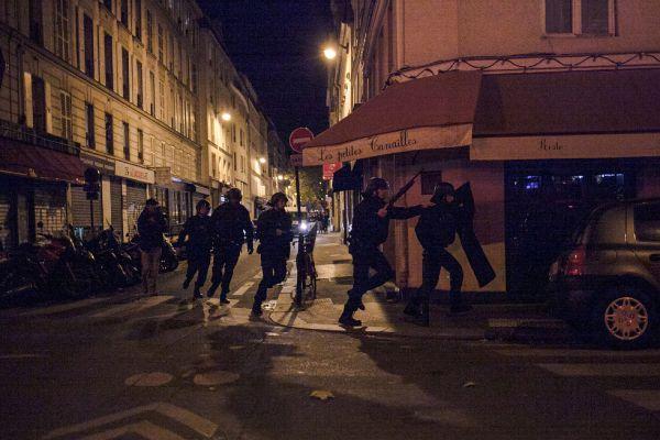 Действия полиции во время теракта