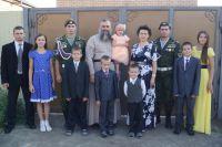 Многодетная семья Кожеватовых.