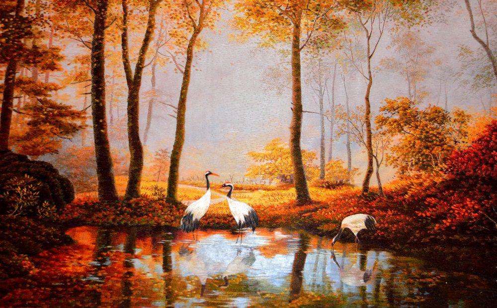 Три журавля и осень - бездна смыслов в простом сюжете.