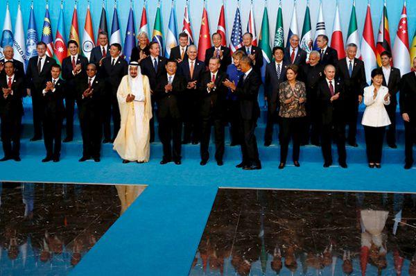 Традиционное совместное фото участников саммита