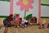 Очередь в омские детские сады будет ликвидирована к началу нового года.