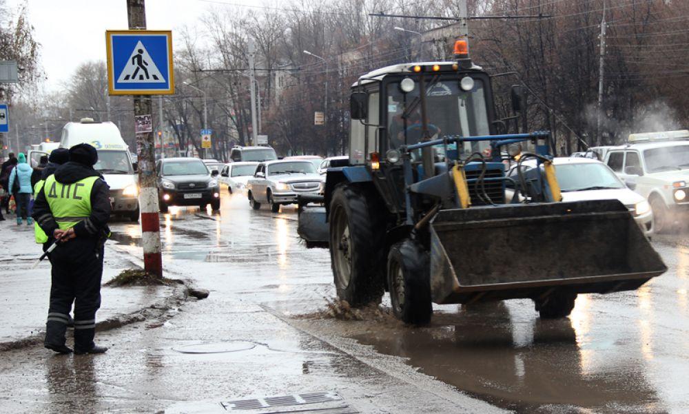 Зоной особого внимания являются пешеходные переходы – особенно те, что расположены на оживлённых магистралях