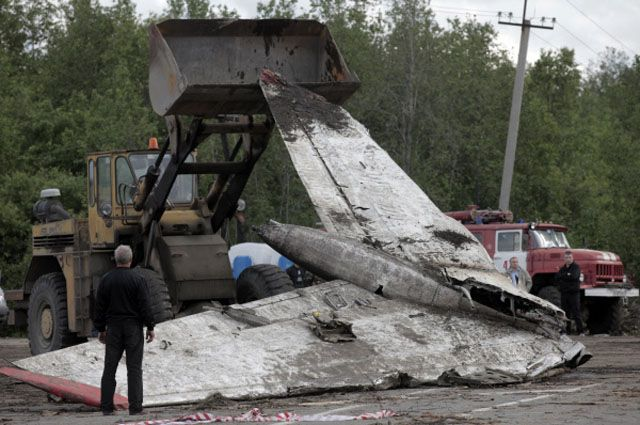 Крушение Ту-134.