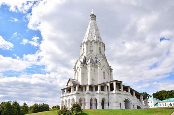 Церковь Вознесения в усадьбе Коломенское в Москве