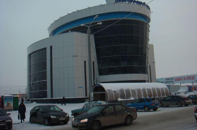 Пригородный вокзал Челябинска.
