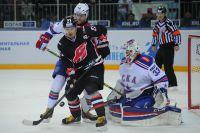 После победы в Санкт-Петербурге у омского «Авангарда» третье место в Восточной конференции КХЛ.