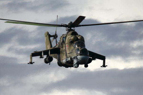 Также в Сирии сейчас находятся вертолеты Ми-17 и Ми-24