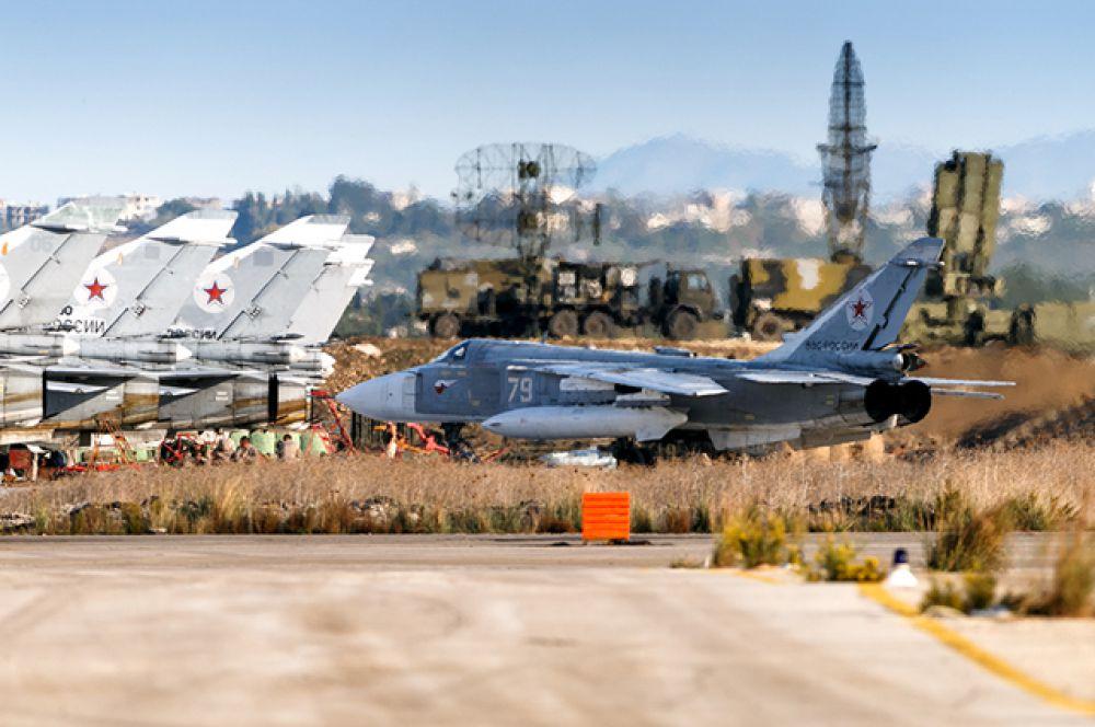 Фронтовой бомбардировщик Су-24