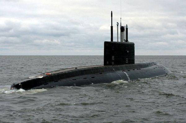 Подводная лодка «Ростов-на-Дону» нанесла из восточной части Средиземного моря удары по территории Сирии крылатыми ракетами «Калибр»