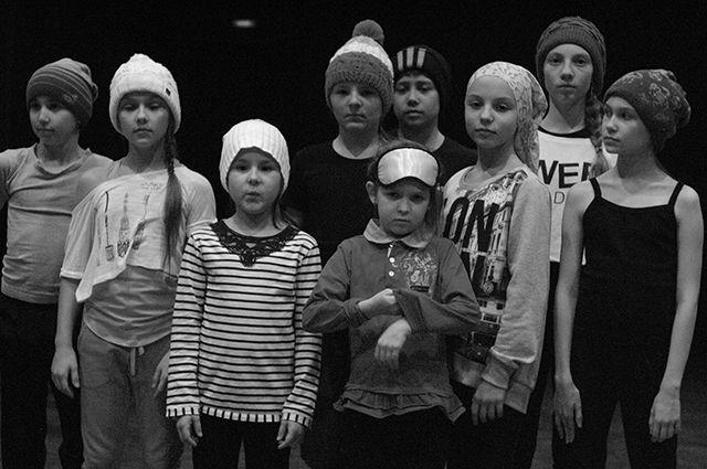 Репетиции с ребятами длились почти год.