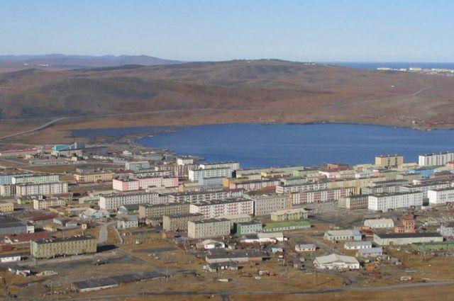 Поселок Сындасско.
