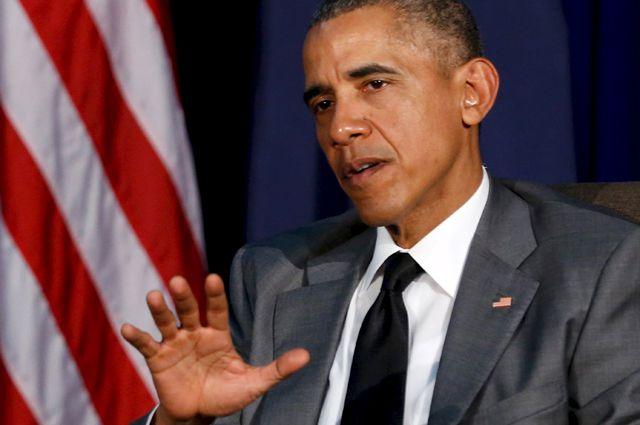 Американский президент Барак Обама.