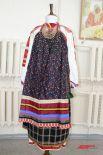 Праздничный костюм замужней женщины. Скопинский уезд Рязанской губернии, 19 век.