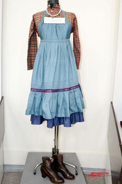 Женский праздничный костюм, татары-мишари. Республика Татарстан, 1920-е годы.