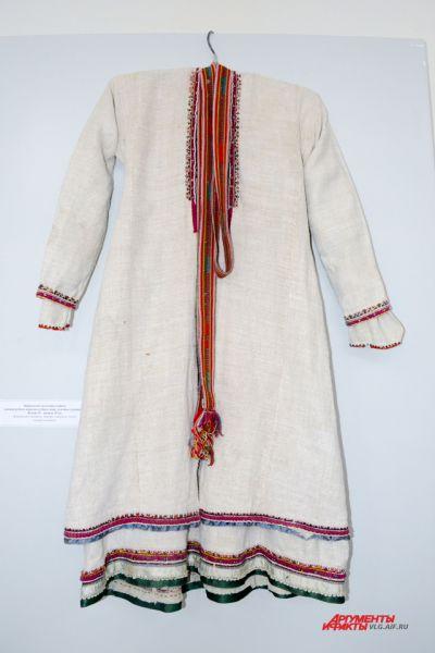 Мордовский женский костюм, конец 19 – начало 20 века.