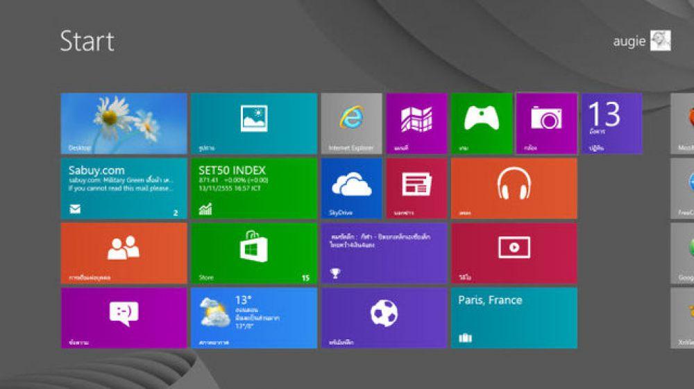 Windows 8 вышла в 2012 году и в отличие от своих предшественников использует новый интерфейс под названием Metro, ориентированный на сенсорный экран. Также в системе присутствует и «классический» рабочий стол, в виде отдельного приложения.