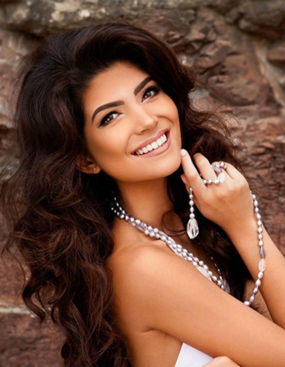 Участница конкурса «Мисс Вселенная» из Великобритании.