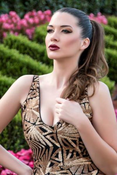 Участница конкурса «Мисс Мира» из Македонии.