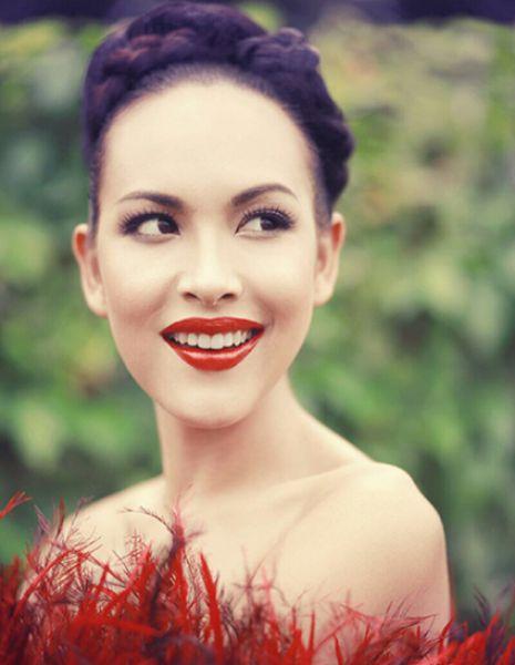 Участница конкурса «Мисс Вселенная» из Сингапура.