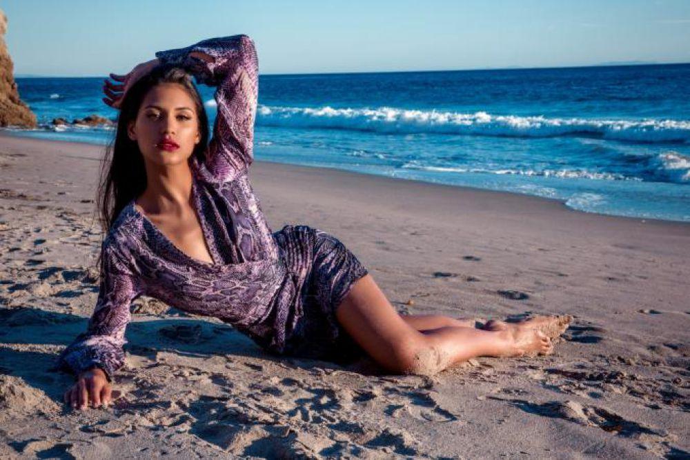 Участница конкурса «Мисс Мира» из Франции.