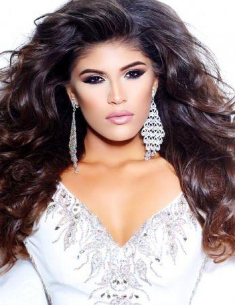 Участница конкурса «Мисс Мира» из США.