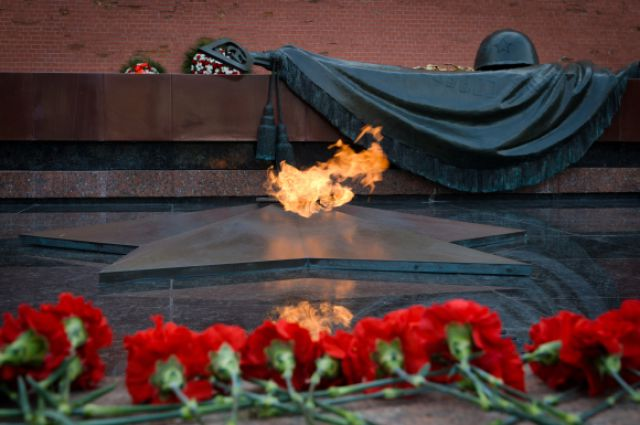 Могила Неизвестного солдата в Александровском саду.