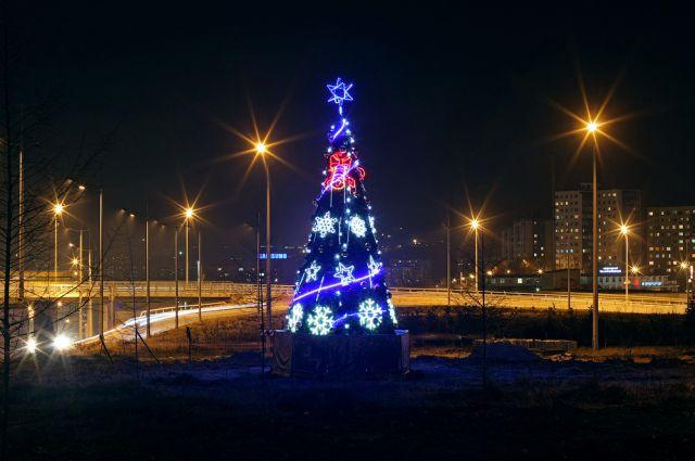 Традиционно елочная конструкция появится на центральной площади Владивостока.