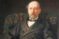 Н.Н. Ге. Портрет Н.А. Некрасова. 1872 год.