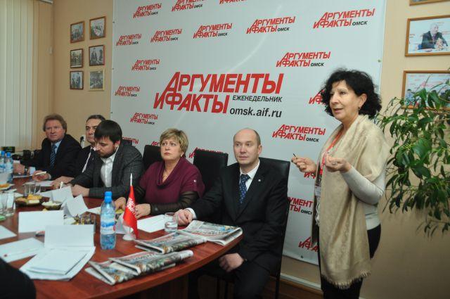 В пресс-центре еженедельника «АиФ в Омске» состоялся деловой завтрак с участием представителей омских профсоюзных организаций.