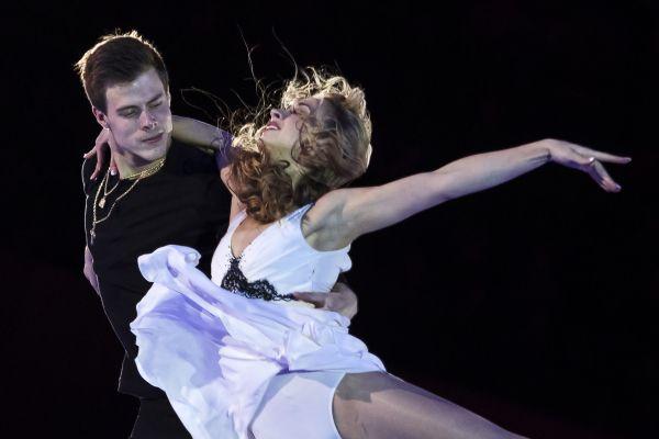 Виктория Синицина и Никита Кацалапов заняли третье место в соревнованиях по танцам на льду.