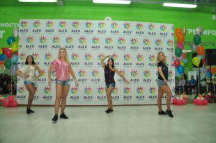 Омскому фитнес-клубу ALEX FITNESS «Диана» исполнилось два года.