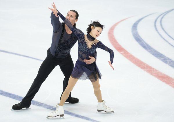 Юко Кавагути и Александр Смирнов заняли второе место.