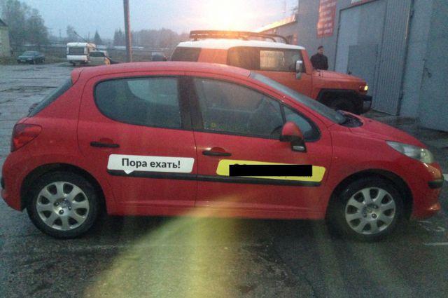Машину без тормозов отправили на штрафстоянку.