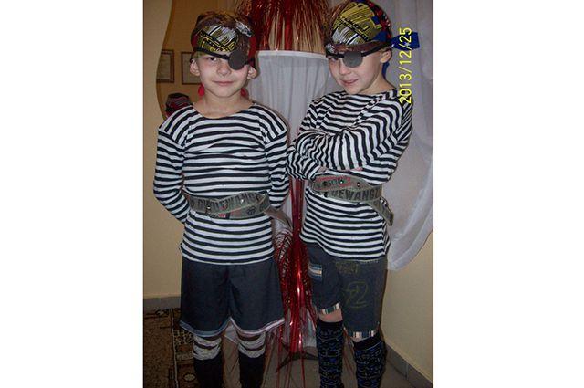 Новые участники конкурса - братья Саша и Игорь.