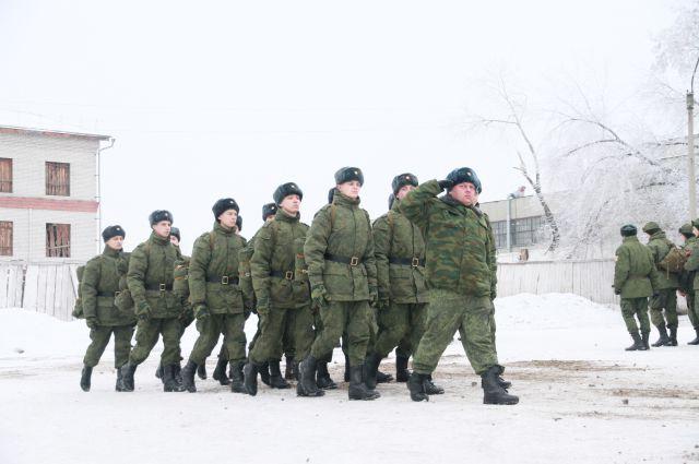 Вместо армии под арест.
