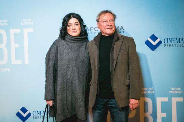 Сергей Шакуров с женой Екатериной
