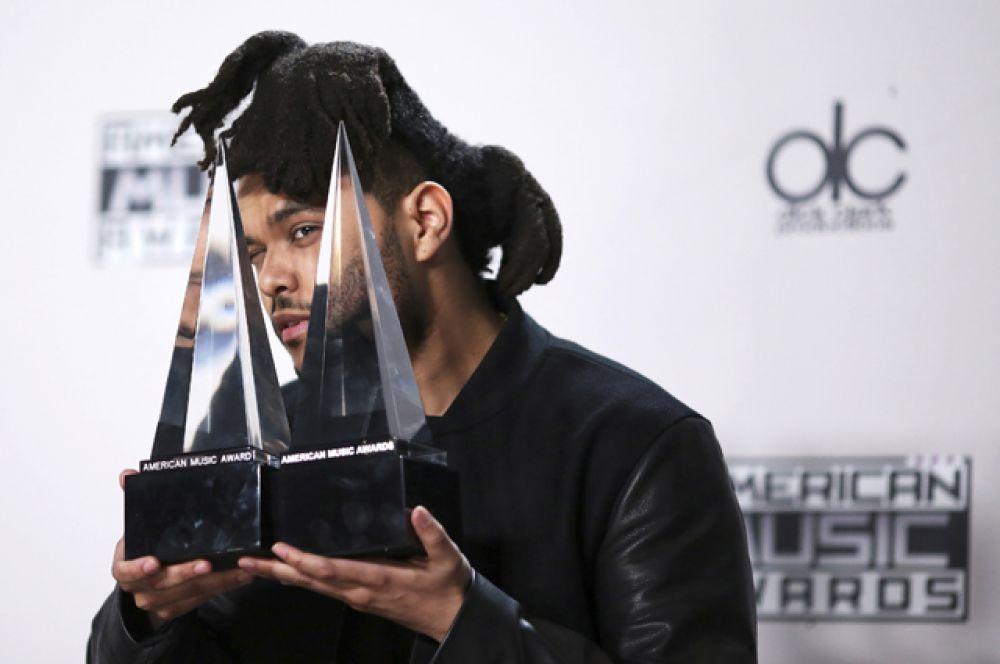 Канадский певец The Weeknd