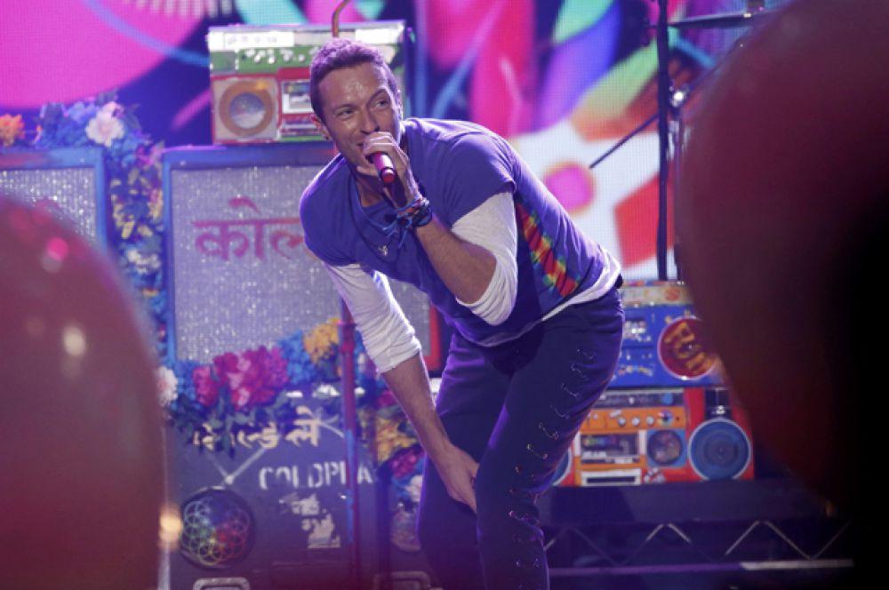 Крис Мартин, Coldplay