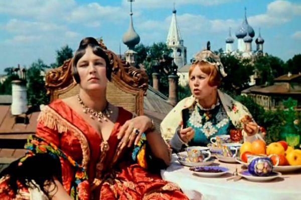 В фильме «Женитьба Бальзаминова» (1964)