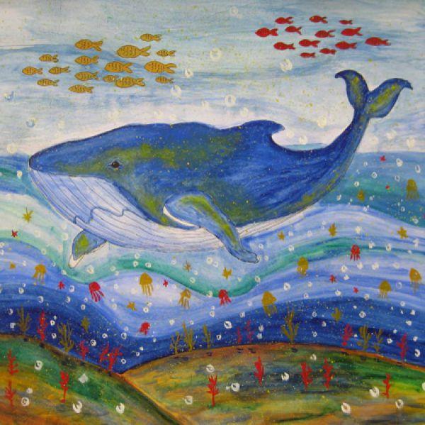 Червакова Валерия, г. Балабаново. Рисунок «Подводный мир».